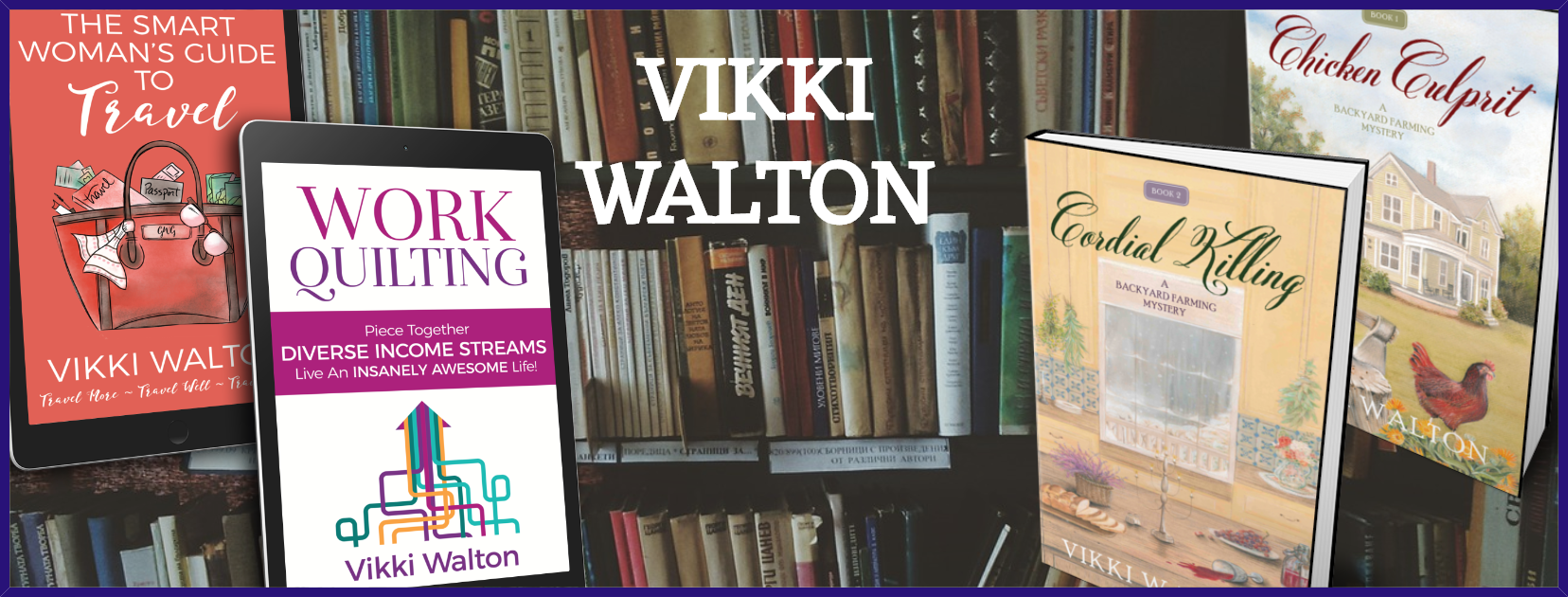 vikki walton author